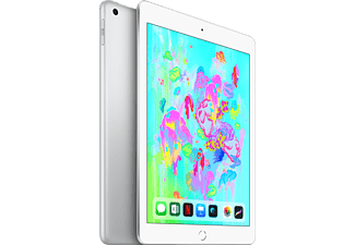 apple ipad 2018 32gb wifi zilver kopen mediamarkt. Black Bedroom Furniture Sets. Home Design Ideas