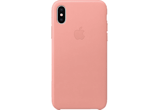 APPLE Leather Case Handyhülle, Soft Pink, passend für Apple iPhone X