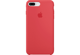 APPLE Silicone Case Handyhülle, Red Rasberry, passend für Apple iPhone 7 Plus, iPhone 8 Plus