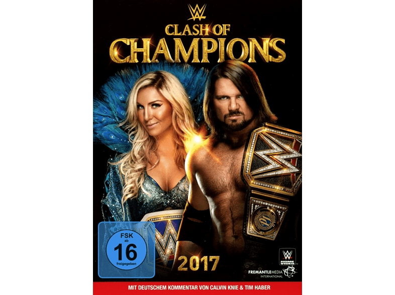 WWE - Clash of Champions 2017 [DVD]