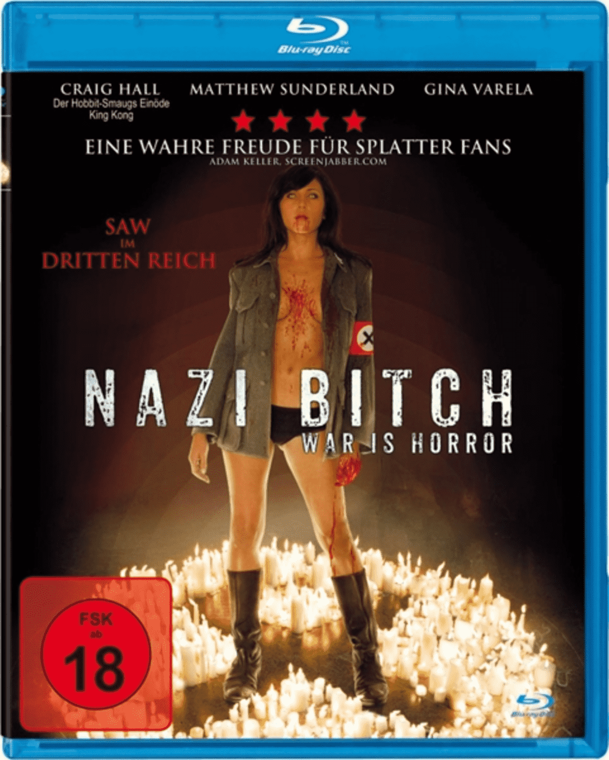 Nazi Bitch - War Is Horror (a.k.a. The Devil´s Rock) auf Blu-ray
