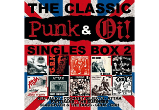 VARIOUS - The Classic Oi! & Punk Singles Box  Vol.2 - (Vinyl)