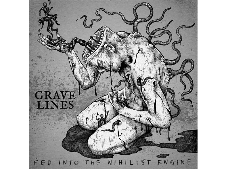 Grave Lines - Fed Into The Nihilist Engine [CD]