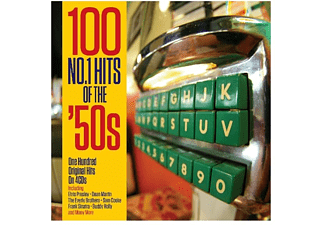VARIOUS - 100 No.1 Hits Of the 50s - (CD)