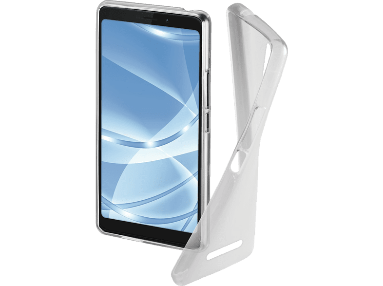 HAMA  Crystal Backcover Wiko View Go Thermoplastisches Polyurethan (TPU) Crystal | 04047443386632
