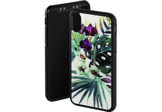 HAMA Orchid Backcover Apple iPhone X Glas/Thermoplastisches Polyurethan Weiß