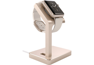 SATECHI Aluminum Apple Watch Stand Laddningsstativ - Guld