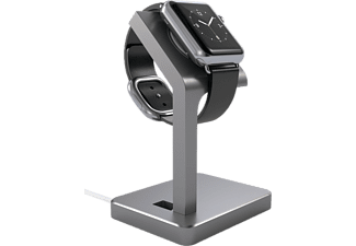 SATECHI Aluminum Apple Watch Stand Laddningsstativ - Space Grey