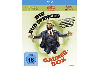 DIE BUD SPENCER GAUNER BOX - (Blu-ray)