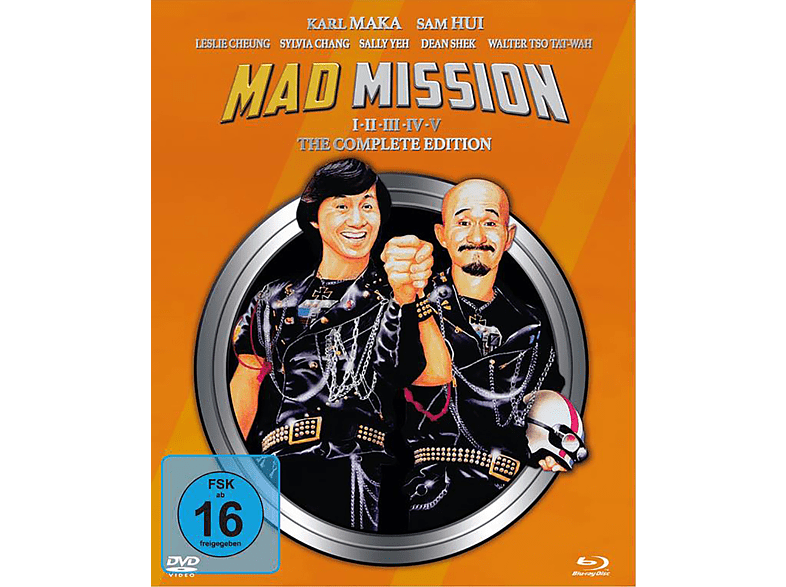 MAD MISSION Part 1 - 5 [Blu-ray + DVD]