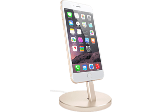 SATECHI Aluminium iPhone Stand Laddningsstativ till iPhone - Guld