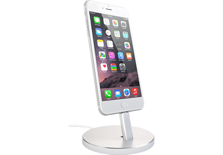 SATECHI Aluminium iPhone Stand Laddningsstativ till iPhone - Silver