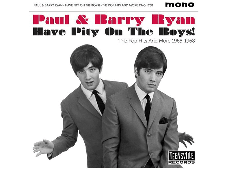 Barry & Paul Ryan - Have Pity On The Boys! (The Pop Hits 1965-1968) [CD]