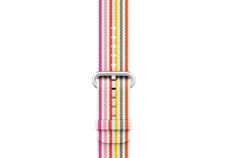 APPLE Nylon, Armband, Apple, Pink Stripe Woven
