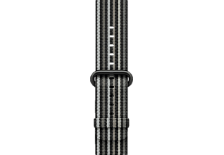 APPLE Nylon, Armband, Apple, Watch 42 mm, Black Stripe Woven