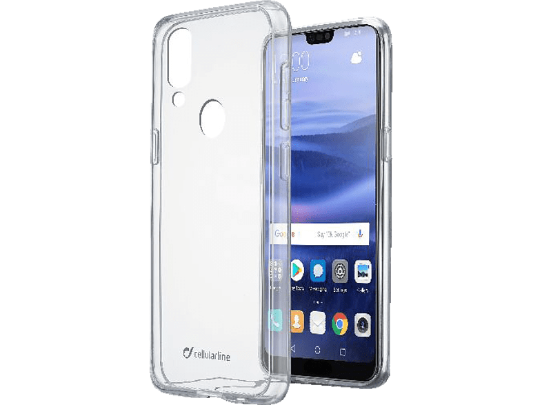 CELLULAR LINE  CLEAR DUO Backcover Huawei P20 Lite Thermoplastisches Polyurethan | 08018080324550