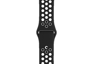 APPLE Sport Band, Armband, Apple, Watch 38 mm, Black/White