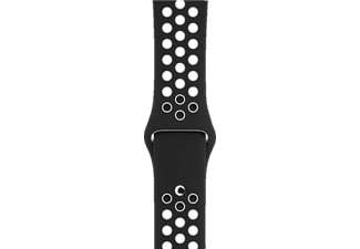 APPLE Sport Band, Armband, Apple, Watch 42 mm, Black/White