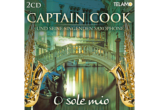 Captain Cook u. s. s. Saxophone - O SOLE MIO - (CD)