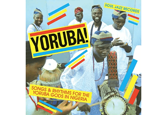 VARIOUS - Yoruba! - (LP + Download)