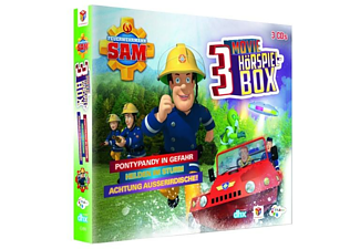 JUST BRIDG Feuerwehrmann Sam-Movie Hörspiel Box (3 CDs)