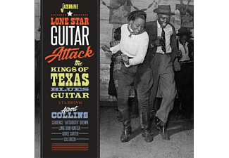 Albert & The Kings Of Texas Blues Guitar Collins - Lone Star Guitar Attack - (CD)