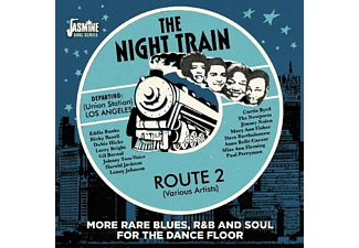 VARIOUS - Night Train Route 2 - (CD)
