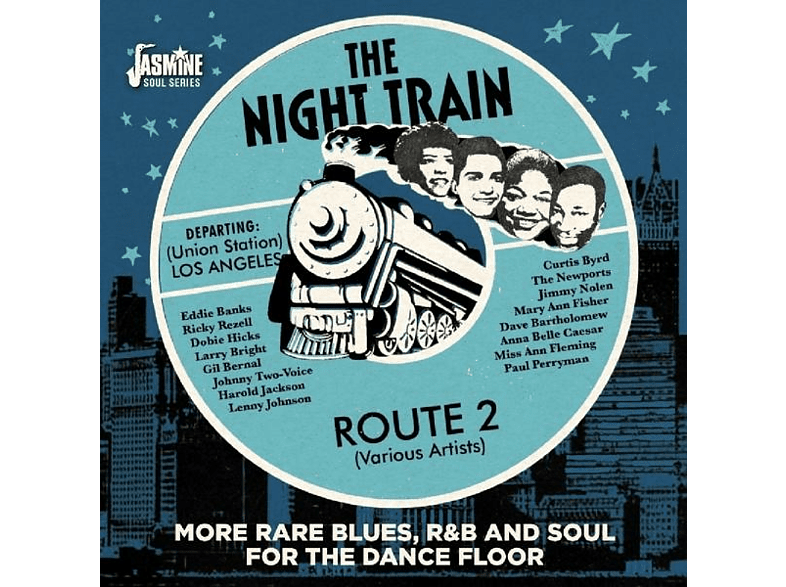 VARIOUS - Night Train Route 2 [CD]