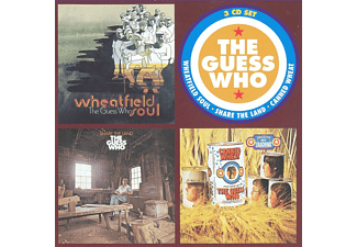 Guess Who - Wheatfield Soul/Share The Land/Canned Wheat (CD)