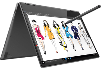 LENOVO Yoga 730, Convertible mit 13.3 Zoll Display, Core™ i5 Prozessor, 8 GB RAM, 256 GB SSD, Intel UHD-Grafik 620, Iron Grey