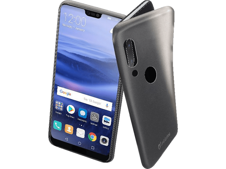 CELLULAR LINE INK , Backcover, Huawei , P20 Lite, Thermoplastisches Polyurethan, Transparent