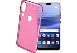 CELLULAR LINE COLOR CASE Backcover Huawei P20 Lite Thermoplastisches Polyurethan Pink