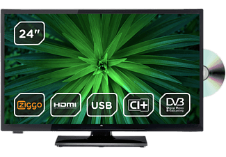 "TV OK OLE24640H-DBDVD 24"" EDGE LED"
