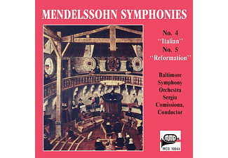 "Baltimore Symphony Orchestra - Mendelsohn Symphonies: No. 4 ""Italian"" / No. 5 ""Reformation"" - (CD)"