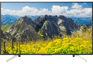SONY KD-65XF7596, 164 cm (65 Zoll), UHD 4K, SMART TV, LED TV, 400 Hz, DVB-T2 HD, DVB-C, DVB-S, DVB-S2