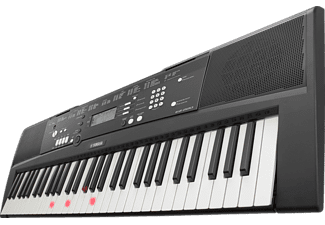 YAMAHA EZ-220 Digital Keyboard, Schwarz
