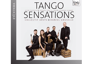 Daniel Gruselle, Collectif Arsys - Tango Sensations - (CD)