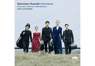 Anna Lucia Richter, Schumann Quartett - Intermezzo - (CD)