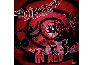 As Diabatz - Nightmares In Red (Vinyl LP) - (LP + Bonus-CD)