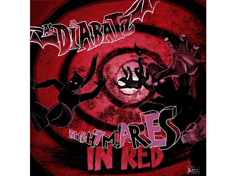 As Diabatz - Nightmares In Red (Vinyl LP) [LP + Bonus-CD]