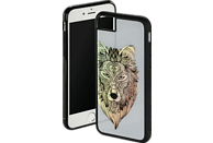 HAMA Akela , Backcover, Apple, iPhone 6, iPhone 6s, iPhone 7, iPhone 8, Glas/Thermoplastisches Polyurethan, Grau
