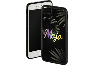 HAMA Mojo Backcover Apple iPhone 6, iPhone 6s, iPhone 7, iPhone 8 Glas/Thermoplastisches Polyurethan Schwarz