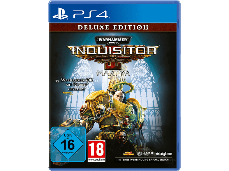 Warhammer 40.000: Inquisitor - Martyr (Deluxe Edition) [PlayStation 4]