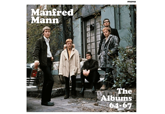 Manfred Mann - The Albums 64-67 (4LP Box) - (Vinyl)