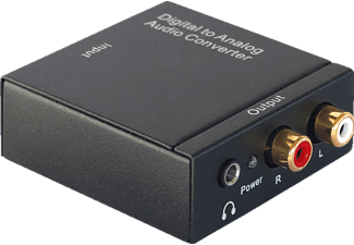 DYNAVOX Mini-DAC, Digital/Analog-Wandler, Schwarz