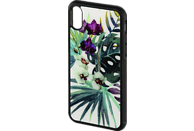 HAMA Orchid , Backcover, Apple, iPhone X, Glas/Thermoplastisches Polyurethan, Weiß