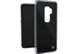 HAMA Cover Glass Backcover Samsung Galaxy S9+ Glas/Thermoplastisches Polyurethan Schwarz