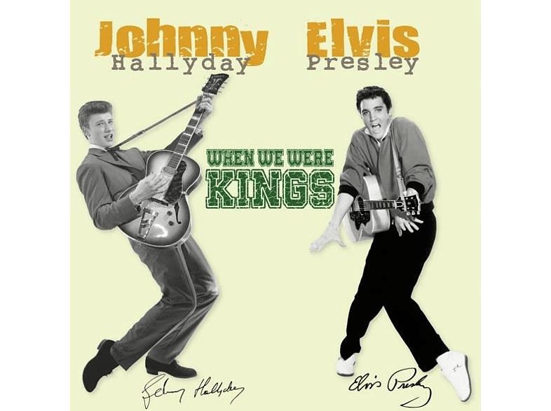Elvis Presley, Johnny Hallyday - When We Were Kings [Vinyl]