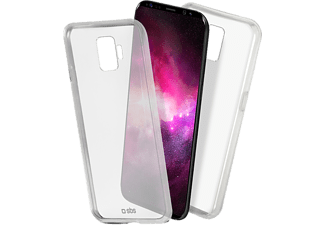 SBS MOBILE Clear Fit Cover till Samsung Galaxy S9 - Transparent