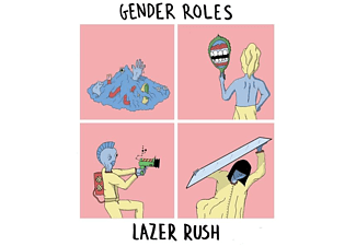 Gender Roles - Lazer Rush (7 Inch) - (Vinyl)